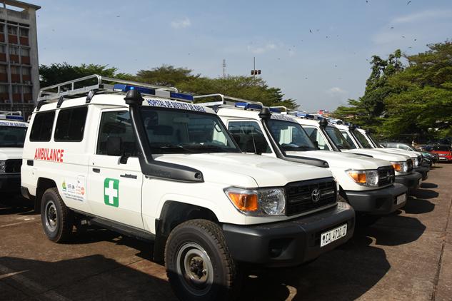 Des équipements roulants au service de la santé maternelle et infantile