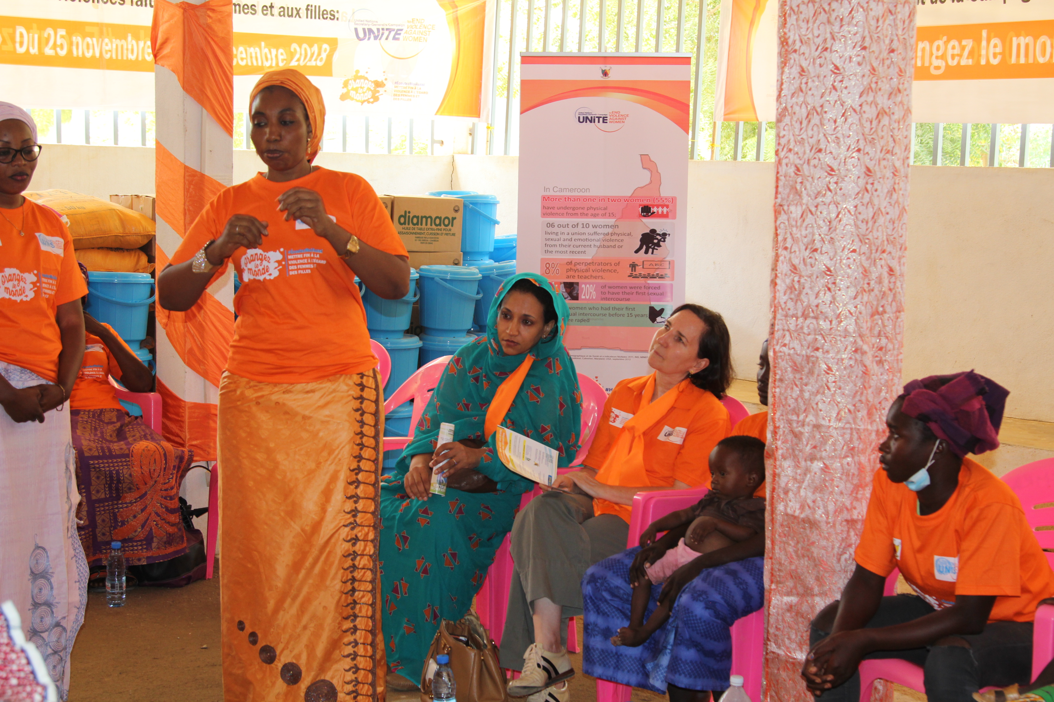 Lancement au Cameroun des 16 jours d'activisme » contre les violences faites aux femmes