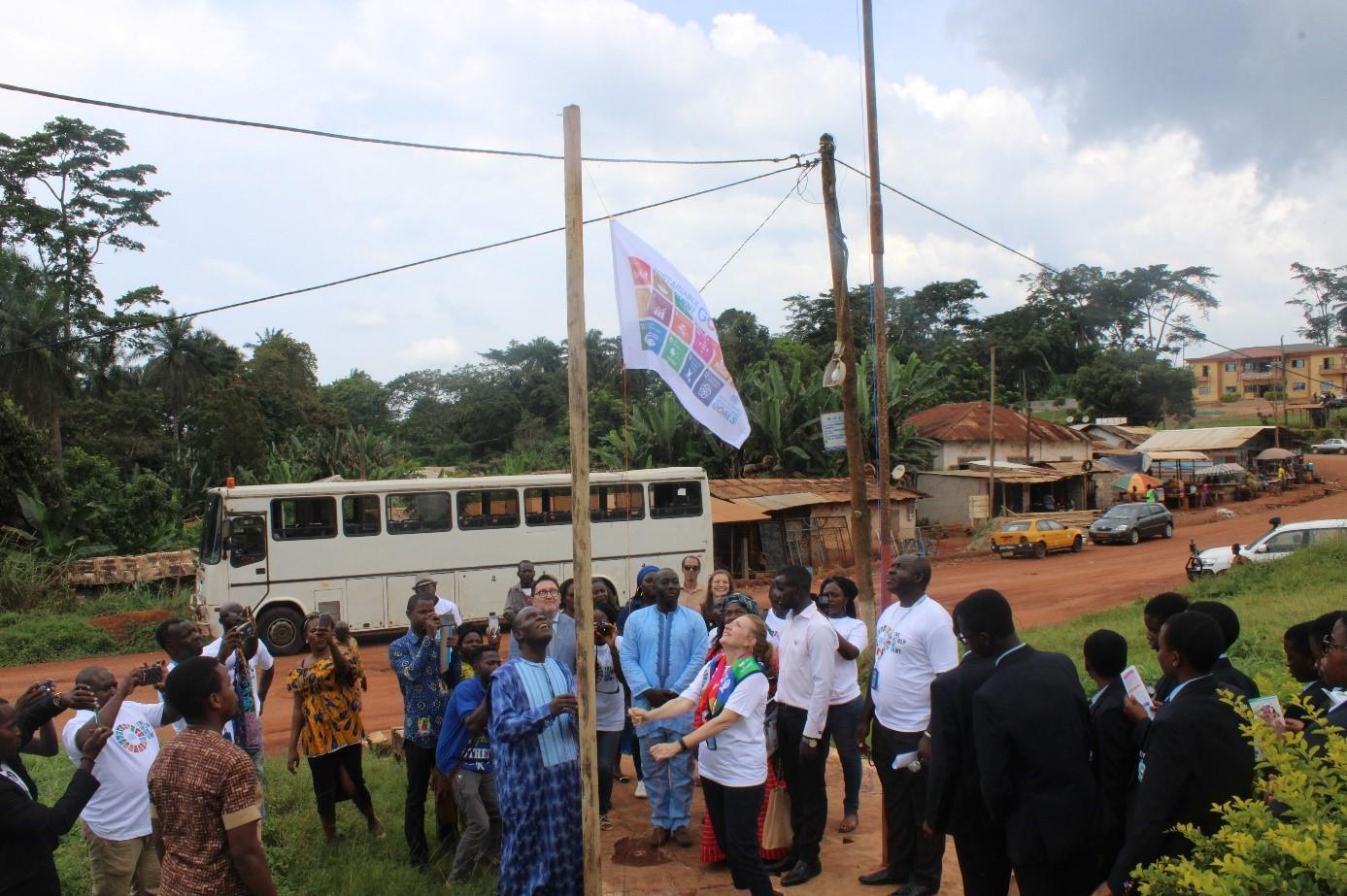 La commune d'arrondissement de Nkol-Afamba désormais aux couleurs des ODD