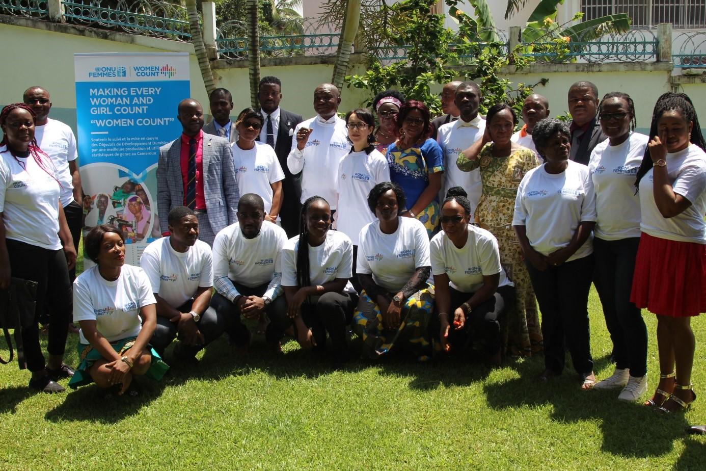 UN Women facilitates a platform for dialogue between producers and users of gender statistics