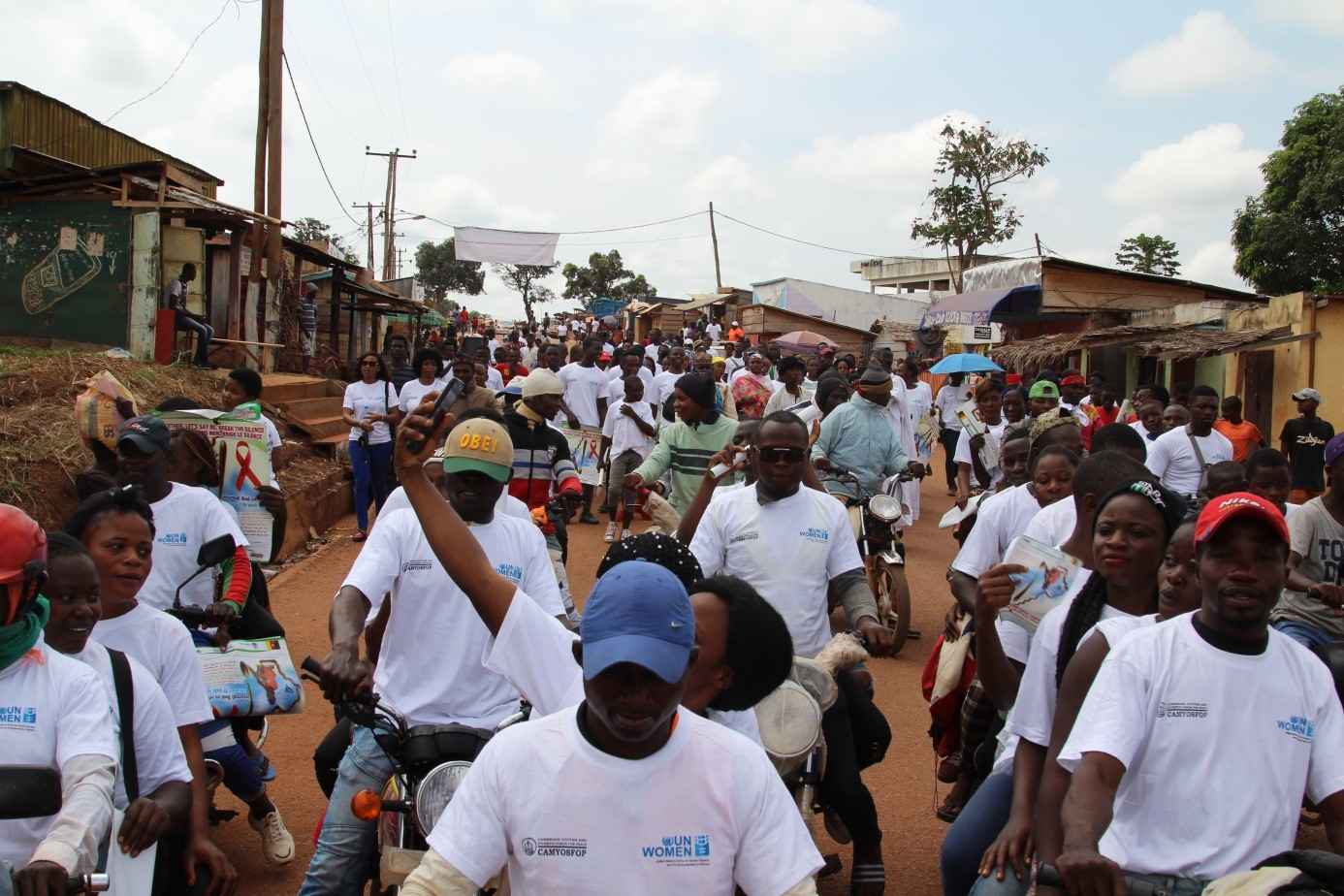 UN WOMEN SUPPORTS AN HIV FEMINIZATION CAMPAIGN TO SENSITIZE YOUTHS OF DIMAKO