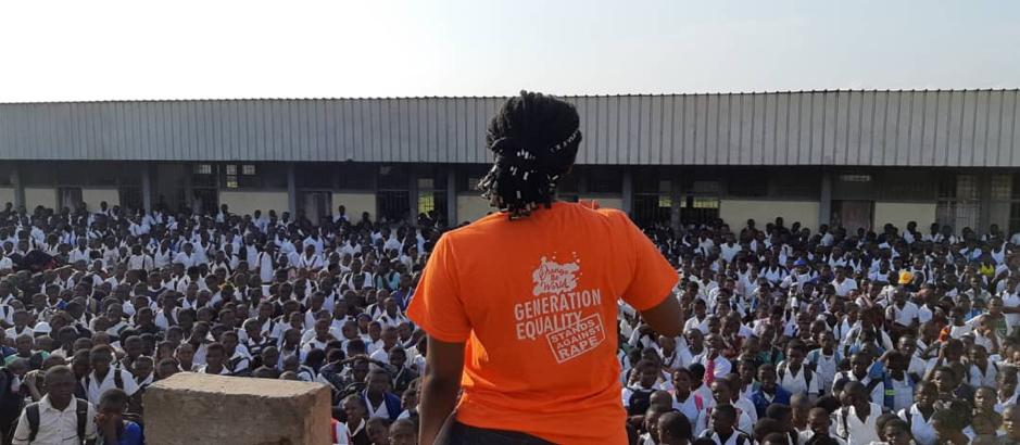 Launching of activities in Buea (South West Region of Cameroon) marking the commemoration of the 16 days of Activism to end Violence Against Women