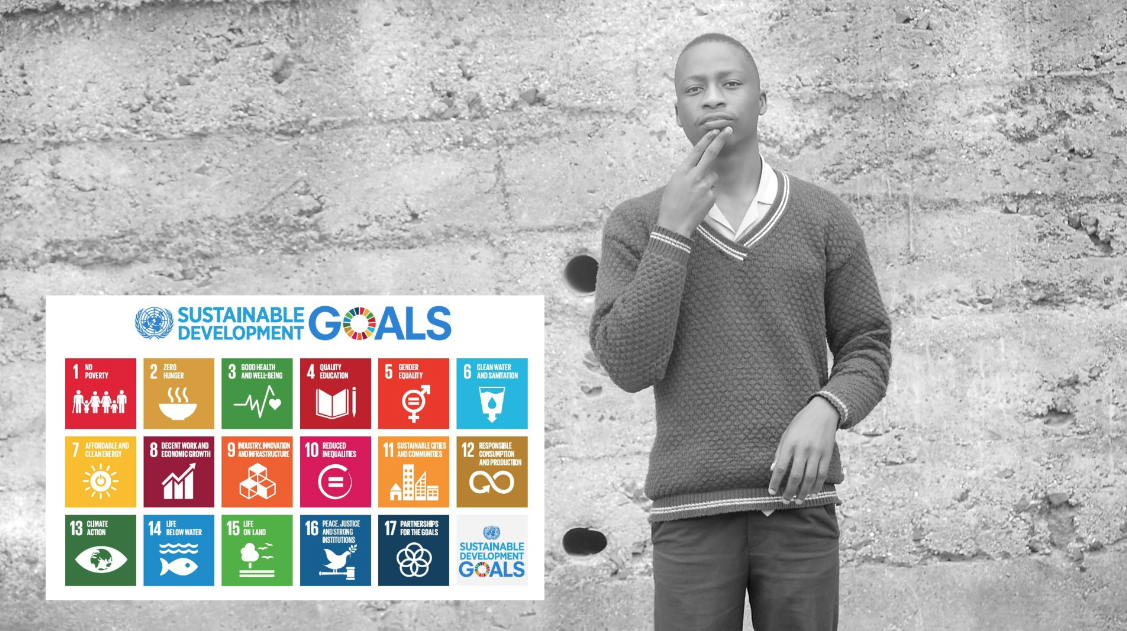 Leave No One Behind - SDGs in Sign Language