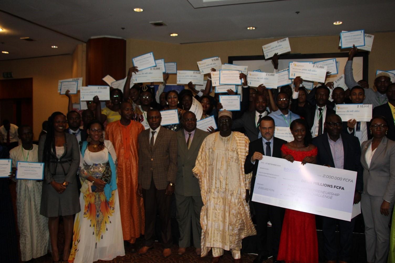 Promotion de l'innovation entrepreneuriale jeune : le PNUD accompagne les jeunes entrepreneurs camerounais