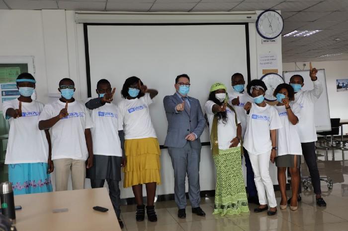 Le #UN75 Dialogue entre le Représentant de l'UNICEF et les jeunes aura été fructueux !