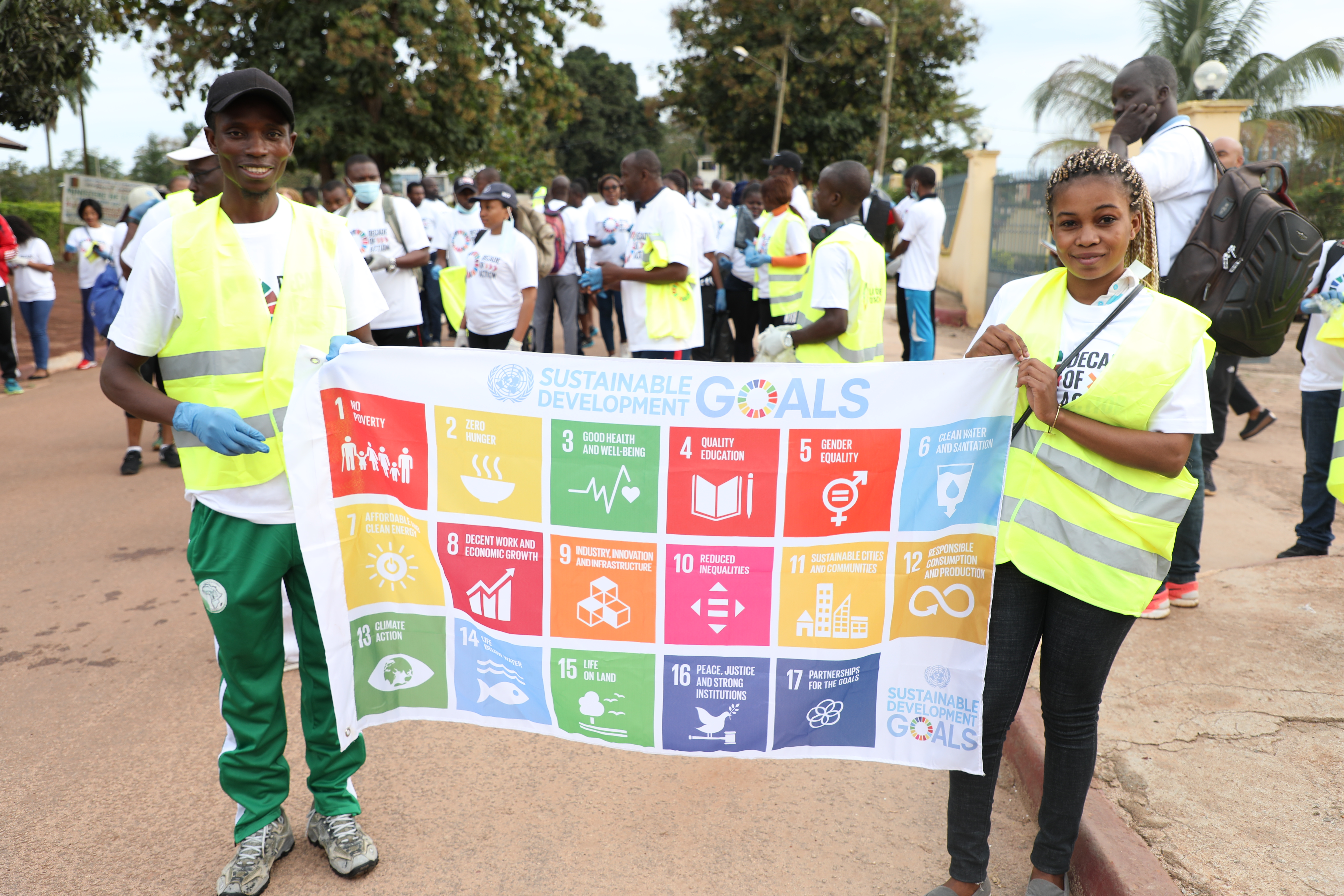 2020 Global Week to Act for the SDGs in Bertoua, East Region