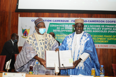 Cameroon and IFAD join forces to boost food security with support to small-scale farmers
