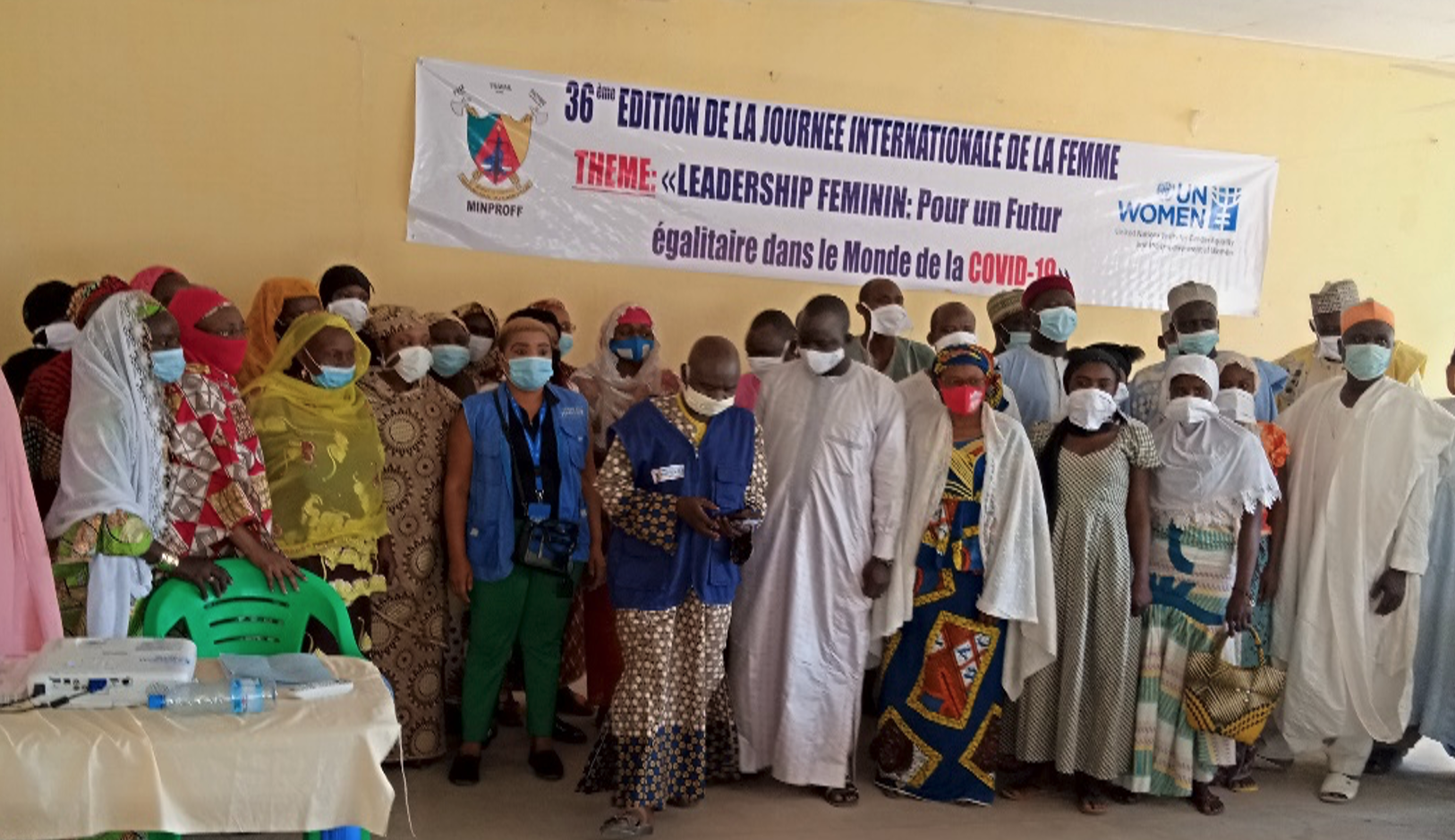 UN Women Cameroon celebrate the 36th edition of the International Women's Day in Conflict affected areas 4-19 of March 2021