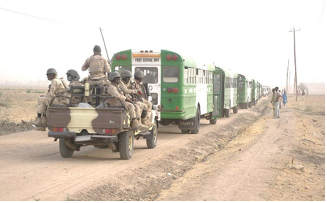The voluntary repatriation of 5000 Nigerian refugees living in the Far North began.