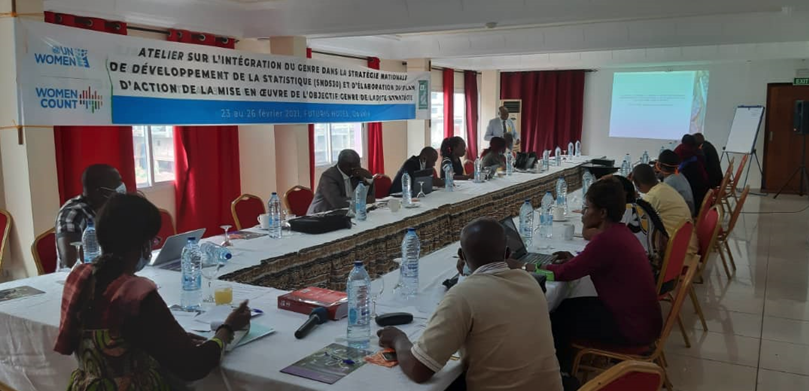UN WOMEN support gender mainstreaming in the future National Strategy for the Development of Statistics 2030 (NSDS 2030) Cameroon