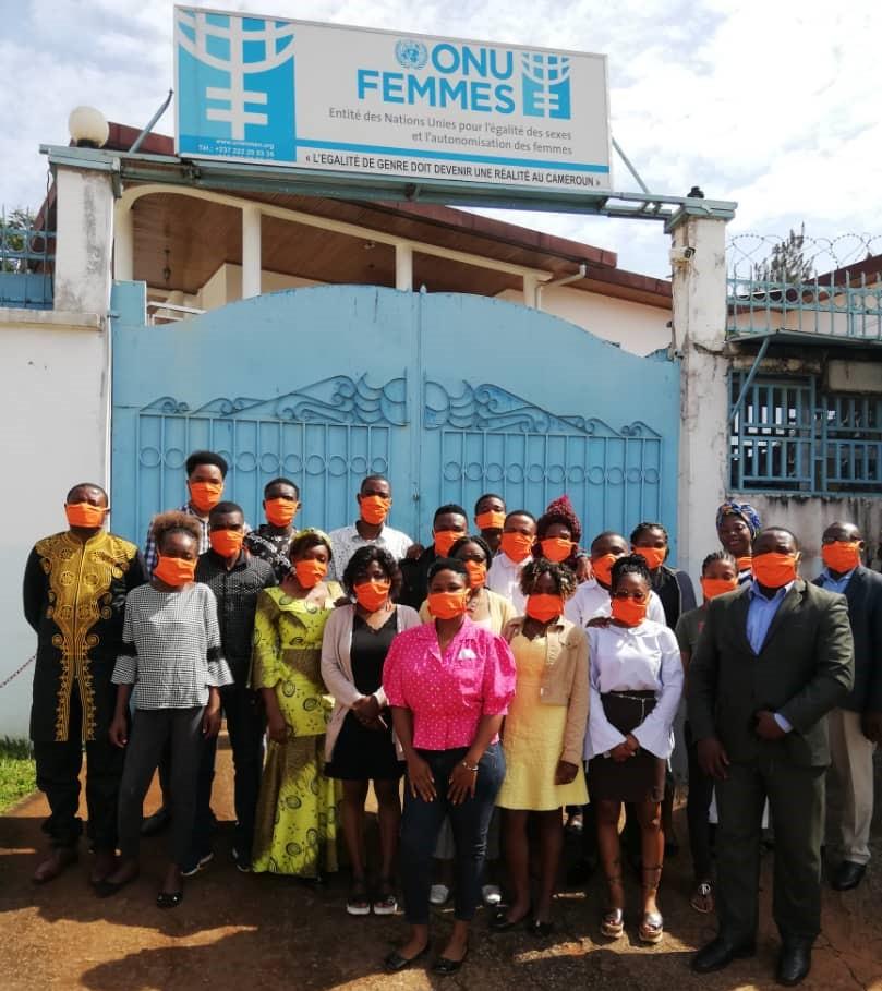 ONU FEMMES APPUIE LE RESEAU NATIONAL DES JEUNES POSITIFS DU CAMEROUN (RECAJ+) POUR LA MISE SUR PIED D'UNE INSTANCE COMMUNAUTAIRE DE VEILLE DES SERVICES DE PREVENTION DES VBG ET AUTRES ABUS CHEZ LES JEUNES FILLES VIVANT AVEC LE VIH