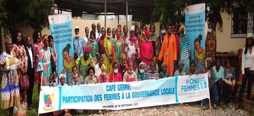 """UN Women: """"Café Genre"""" – Women's participation in local governance"""